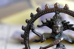 Nataraja Statuette stock photo