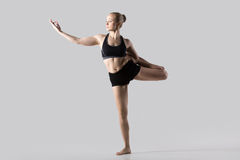 Natarajasana, Lord of the Dance pose Stock Image