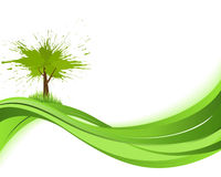 Natare background. Eco concept Royalty Free Stock Photography