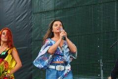 Natasha σοβιετικοί και ρωσικοί λαϊκοί τραγουδιστής Koroleva ※ και ηθοποιός ουκρανικής προέλευσης στοκ εικόνες