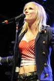 Natasha Bedingfield performing live. Natasha Bedingfield performing live in Los Angeles in July 2008 Stock Image