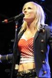 Natasha Bedingfield performing live. Stock Image