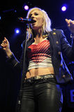 Natasha Bedingfield performing live Stock Photos
