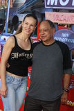 Natasha Rubin, Cheech Marin arrives at the  Royalty Free Stock Images