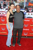 Natasha Rubin, Cheech Marin arrives at the  Royalty Free Stock Photos