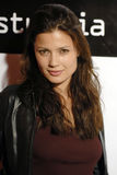 Natassia Malthe on the red carpet. Royalty Free Stock Image