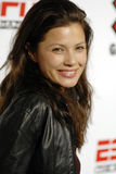 Natassia Malthe on the red carpet. Stock Images