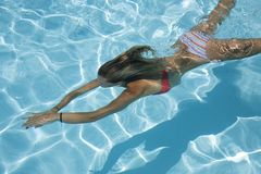 Natation Photo libre de droits