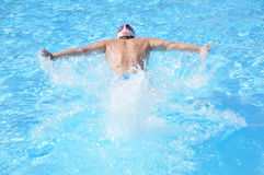 Natation Royalty Free Stock Photo