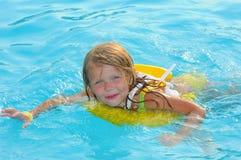 natation d'enfant Images stock
