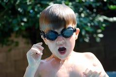 natation de gosse Image stock