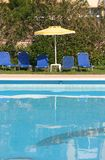 natation de regroupement Photo stock