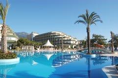 natation de regroupement d'hôtel d'antalya Photo libre de droits