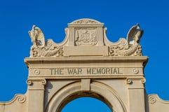 Natatorio del memoriale di guerra Fotografie Stock