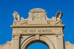 Natatorium de mémorial de guerre Photos stock