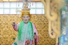 Natbobo Gyi dans la pagoda de Botahtaung de Yangon, Myanmar C'est bar Image stock