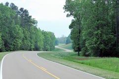 Natchez ślad, Luizjana Zdjęcie Stock