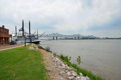 Natchez Mississippi Riverfront Royalty Free Stock Photos