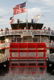 Natchez steamboat on Mississipi river Stock Photos