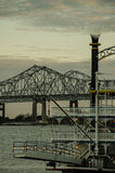 Natchez Steamboat at Mississippi River - New Orleans Royalty Free Stock Image