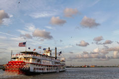 Natchez steamboat in New Orleans Royalty Free Stock Photography