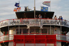 Natchez steamboat Royalty Free Stock Images