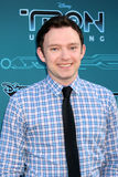 Nate Corddry obtient à Disney XD   Images stock