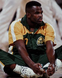 Nate McMillan, Seattle Sonics Royalty-vrije Stock Fotografie