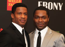 Nate Parker and David Oyelowo Stock Photos
