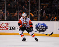 Nate Thompson, New York Islanders. New York Islanders forward Nate Thompson #11 stock photo