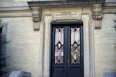 NatGeo art deco doors stock images
