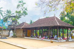 Natha Devale temple Stock Image