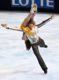 Nathalie Pechalat and Fabian Bourzat (FRA) Royalty Free Stock Photography