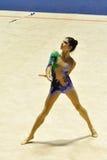 Nathalie REALE der Meisterschaft an des Italiener-A1 Lizenzfreie Stockfotografie