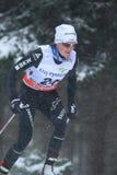 Nathalie Von Siebenthal - Cross Country-Skifahren Lizenzfreies Stockbild