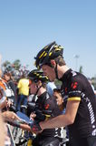 Nathan Brown 2012 Amgen Tour of California Royalty Free Stock Images