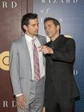 Nathan Darrow et Alessandro Nivola Photos stock