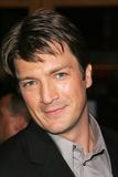 Nathan Fillion Fotografia Royalty Free