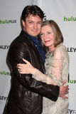 Nathan Fillion, Susan Sullivan Royalty Free Stock Photography