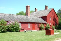 Nathan Hale Homestead Stock Photography