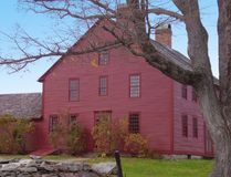 Nathan Hale Homestead. Connecticut home of Nathan Hale, American Revolutionary War hero Royalty Free Stock Images