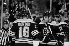 Nathan Horton and Milan Lucic Royalty Free Stock Photography