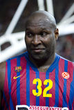 Nathan Jawai do FC Barcelona Imagem de Stock Royalty Free