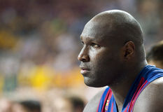 Nathan Jawai of FC Barcelona Stock Photography