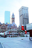 Nathan Phillip square in Toronto. Royalty Free Stock Image