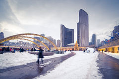 Nathan Phillips Square Stock Foto's