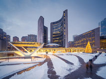 Nathan Phillips Square Royalty Free Stock Photography