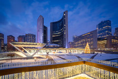 Nathan Phillips Square royalty free stock photo