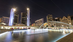 Nathan Phillips Square in Toronto Royalty Free Stock Image