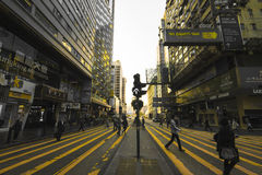 Nathan Road Royalty Free Stock Photos
